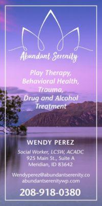 Wendy Perez Ad
