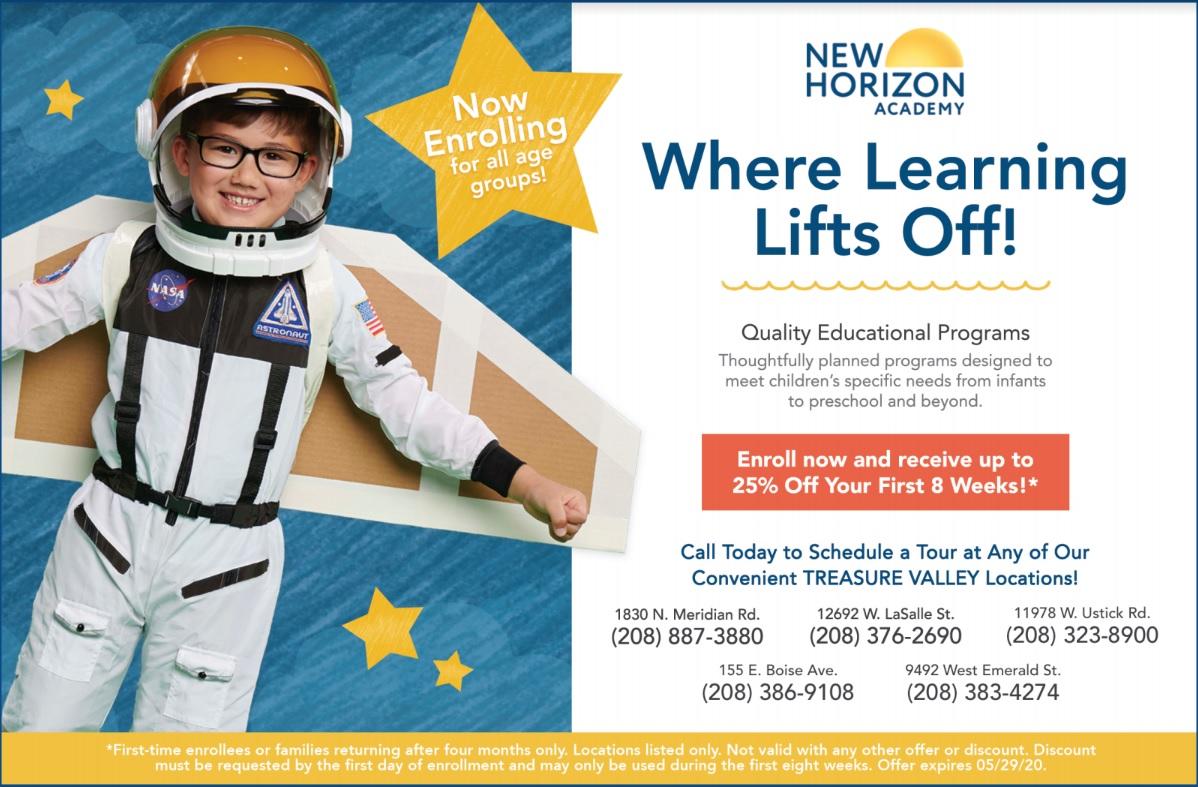 New Horizon 2020 web ad